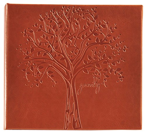 Pinnacle Frames and Accents Family Tree Embossed Photo Album