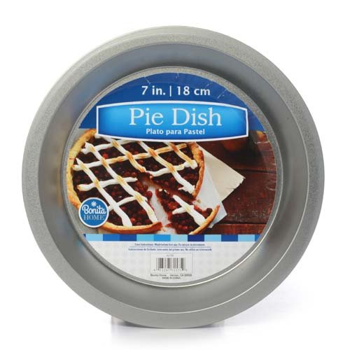 Metal Pie Dish Pan 7in 18cm, Case of 48