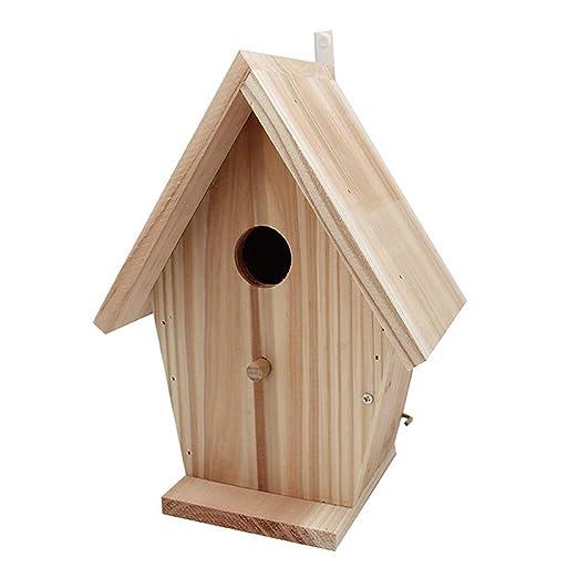 Birdhouses GONAMano Dibujado Ciencia pájaro casa Nido Jaula o ...