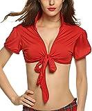 Best Crops - Avidlove Women Short Sleeve Bolero Cardigan Crop Top Review