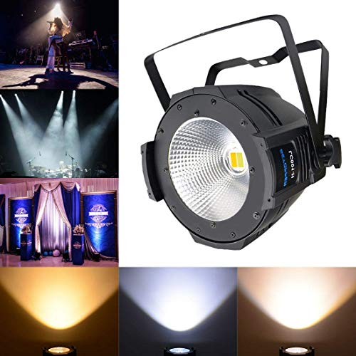 Betopper 100W COB DJ Wash Par Lights Super Bright LED Stage Lighting(One of the Most Professional Kits) -