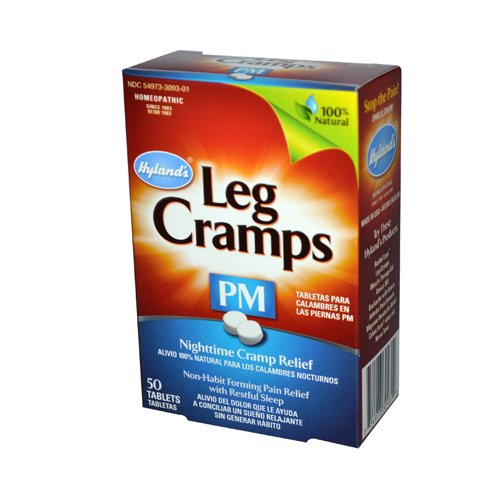 Hyland's- Leg Cramps PM With Quinine - 50 Tablets - 2 (Night Rest 50 Tabs)