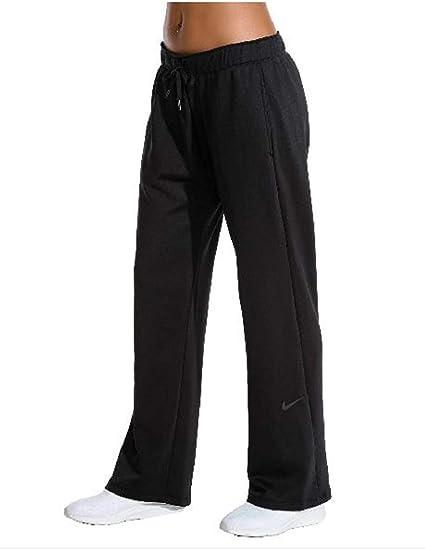 1d546b44c8 Amazon.com : W NK THRMA Pant All TIME Women's Fleece Training Pants :  Sports & Outdoors