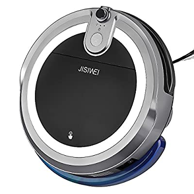 JISIWEI 192662304-US I3-Gray-2 I3 Wi-Fi Enabled Robotic Vacuum Cleaner, Self Charging, Floor Cleaner With Camera And Mobile App Remote Control For Hard Floors