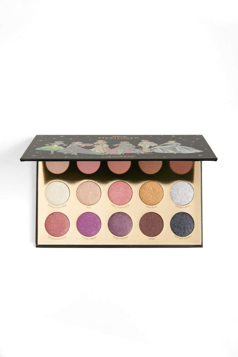 Colourpop Disney Designer Collection - It's A Princess Thing - Pressed Powder Eye Shadow Palette