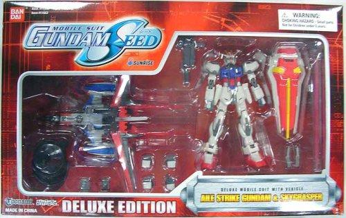 Gundam Seed Deluxe Aile Strike Gundam $ Skygrasper