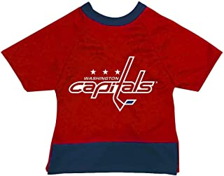 product image for All Star Dogs NHL Unisex NHL Washington Capitals Athletic Mesh Dog Jersey