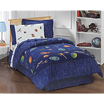 Fabulous Amazon.com: Kids Boys Teen Comforter Bed Set Bedding Navy Blue  KM12