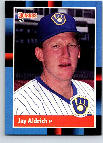 Baseball MLB 1988 Donruss #460 Jay Aldrich NM-MT RC Rookie -