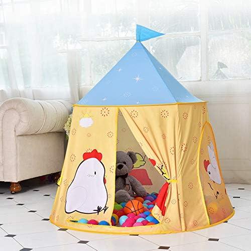 HLSUSAN Piscina de Bolas Tienda para Niños Castillo Princesas Juego de Castillo Carpa Infantil Tienda de Juego para Interior y Exterior Portable Regalo para Niños