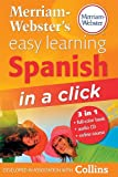 Merriam-Webster's Easy Learning Spanish in a Click, Merriam-Webster, Inc. Staff, 0877795584