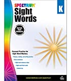 Spectrum Sight Words Book, Softcover,Grade K, Ages 5 to 6