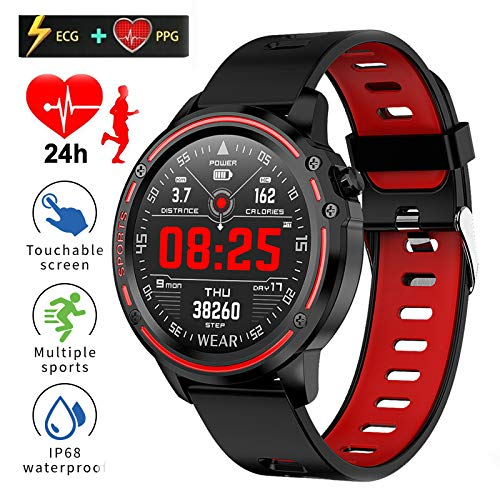 PROMISESTYLE Fitness Tracker, L8 Smart Watch Wristband,Heart Rate Blood Pressure Blood Oxygen Monitor with Pedometer…