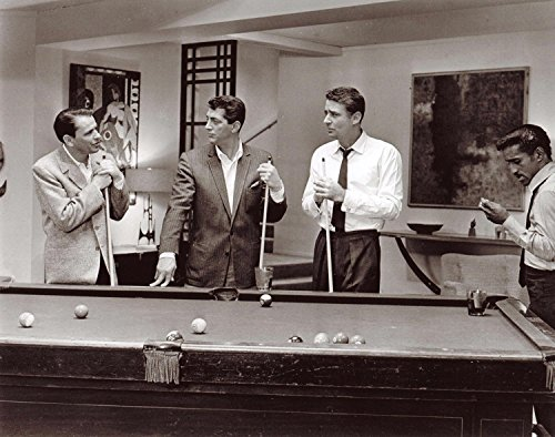 Frank Sinatra The Rat Pack Ocean's Eleven Playing Pool 11 x 14 Photo Celebrity Art and Photographs