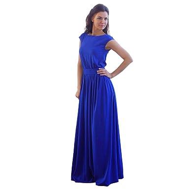iHPH7 Women Fashion Sexy Womens Sleeveless Vest Long Dress