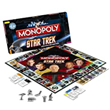 Monopoly Board Game - Star Trek Continuum Edition