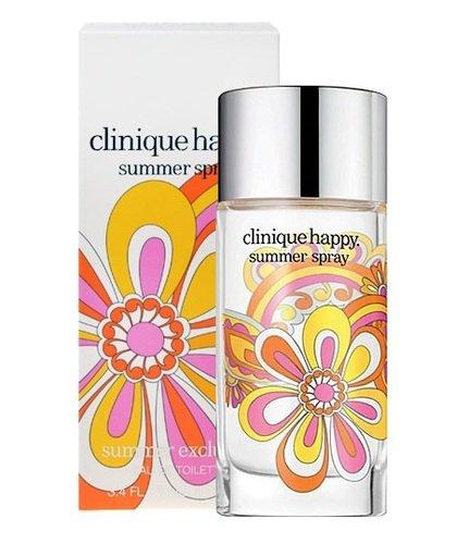 Clinique Happy Summer Spray 3.4 Oz Eau De Toilette Spray (Summer Exclusive) Women ()