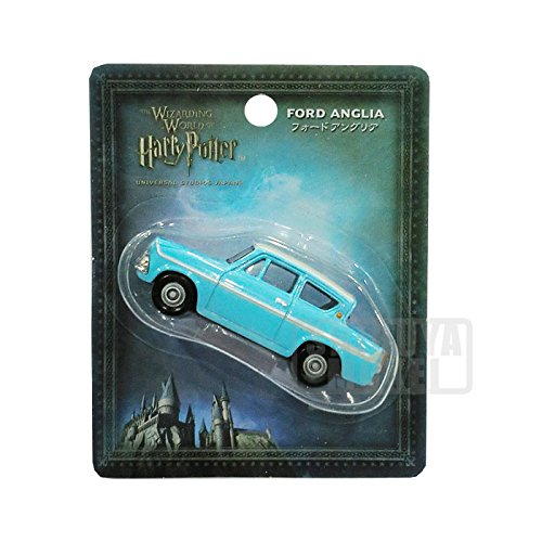 TOMY Tomica Harry Potter FORD ANGLIA car figure toy Universal Stadios Japan - Ford Tomy