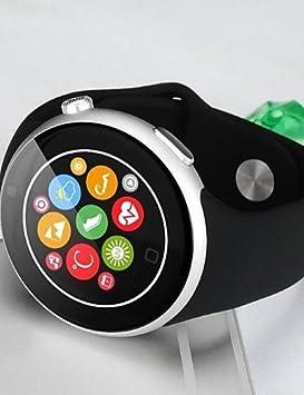 C5 Smart Watch redondo profesional impermeable pantalla IPS Apoyo ...