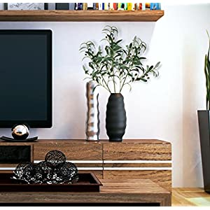 28-Inch Artificial Olive Plants Stems Branches Fake Plants Green Leaves Fruits Branch Leaves for Home Office ndoor Outside DIY-Wreath Decor 3