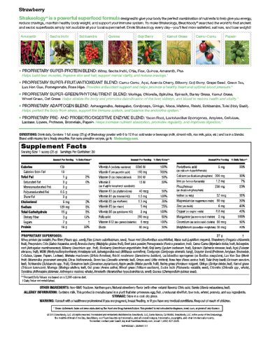 Shakeology Strawberry 30 Servings (bulk) in a BAG by Shakeology (Image #3)