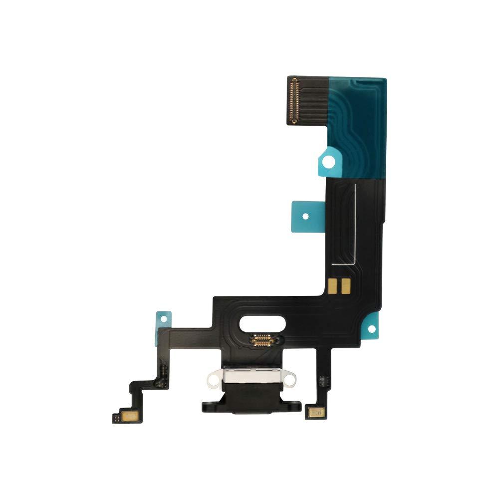 Puerto de Carga para iPhone XR 6.1 pulgadas Black .