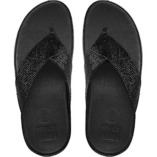 Fitflop Crystall Sandali Neri UK8 Nero