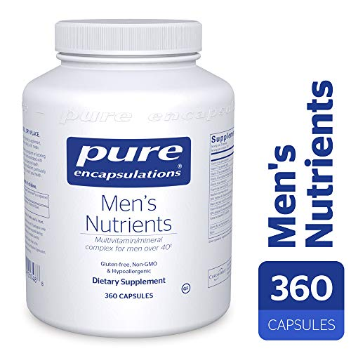 Pure Encapsulations - Men's Nutrients - Hypoallergenic Multivitamin/Mineral Complex for Men Over 40-360 Capsules (Best Multivitamin For Men Over 70)