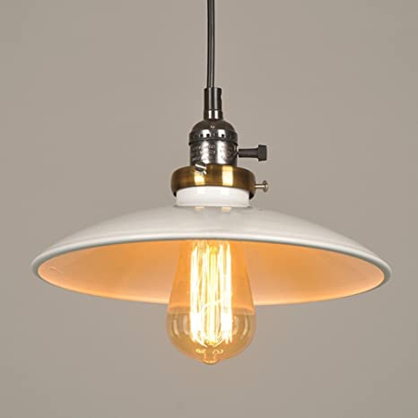 Amazon Com Modeen E27 Industrial Style Pendant Light With