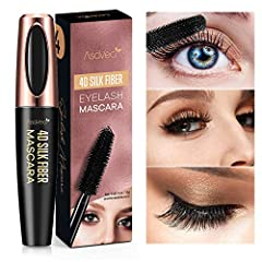 Our 4D Silk Fiber Lash Mascara new and upgraded formula glides smoothly and effortlessly to help you achieve fuller and intense multi-dimensional lashes that look stunning and natural.  With just one single application, this long-wearing masc...