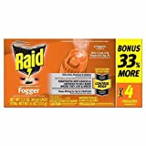 10. Raid Concentrated Fogger 1.5 Oz - 4 Pack