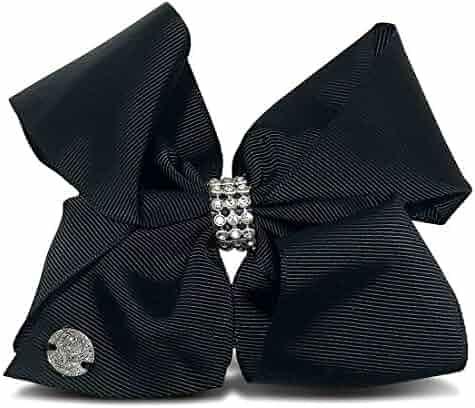 JoJo Siwa Black Rhinestone Bow 6.5
