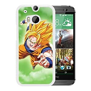 Unique and Lovely HTC ONE M8 Case Design with Dragon Ball 38 White Cover