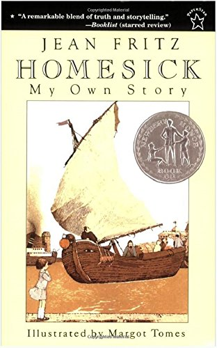 Homesick My Own Story by Jean Fritz Newbery Honor Book Ages 8 - - Homesick Own Story My