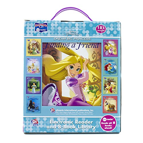Disney Princess - Dream Big Princess Me Reader and 8-Book Library - PI Kids