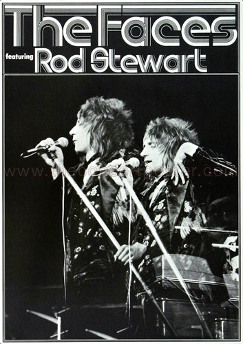 Rod Stewart & The Faces - Every Picture 1971 - Poster, Concertposter, Concert (Stewart Rod 1971)