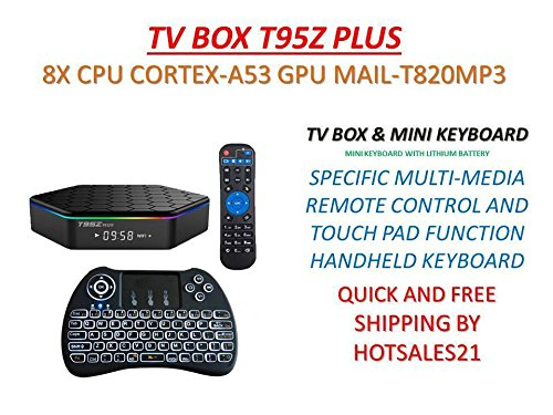 T95Z Plus Android TV Box 3GB RAM/32GB ROM Android 7.1 Octa C