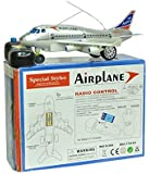 Akshat Online Traders Remote Control Airplane For Kids (Running, Not Flying)
