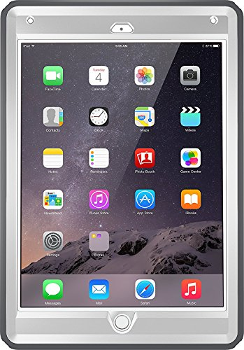 OtterBox Defender Series Case for iPad Air 2 (2nd Gen) - Glacier Gray/White (Bulk (Defender Air)