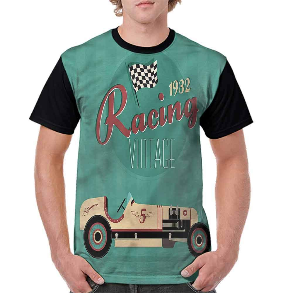 Classic T-Shirt,Various Vintage Wheels Fashion Personality Customization