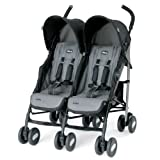 Chicco Echo Twin Stroller - Coal
