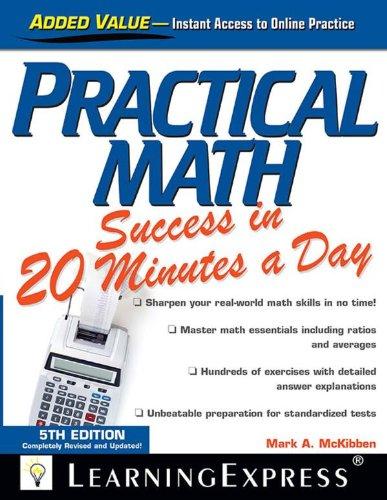 Practical Math Success in 20 Minutes a Day (5th 2013) [McKibben]