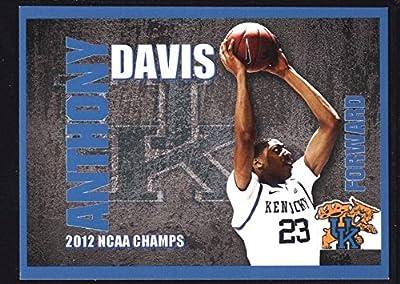 Anthony Davis $40+ Mint Kentucky Blue Rookie Rc Sp 2012 Ncaa Champs Uk Wildcats