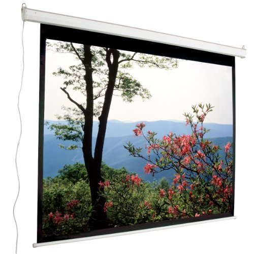 """135"""" Electric Projector Screen - (120""""x68"""") 16:9 Projection Screen - Mustang SC-E135D169"""