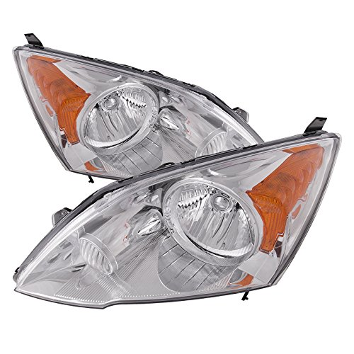 Honda CRV Headlights OE Style Replacement Headlamps Driver/Passenger Pair New