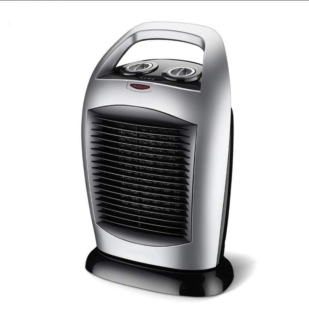 Acquisto ZZHF Riscaldatore, Termostato per termostato Regolabile da Ufficio per Bagno della Famiglia 2000W Argento radiatore Prezzi offerte
