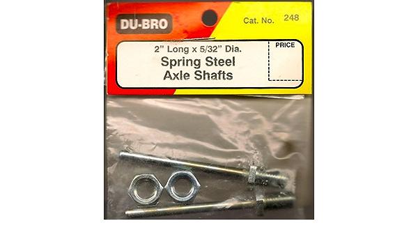 """Du-Bro 2/"""" axel shafts No 248"""