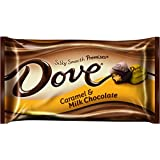 Dove Milk Chocolate Caramel Promises, 9.5-Ounce Packages (Pack of 4)