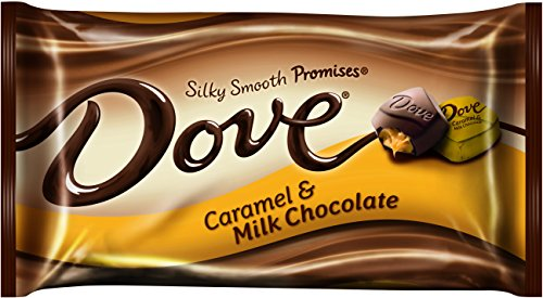 Dove Milk Chocolate Caramel Promises, 7.94 Ounce Packages (Pack of ()