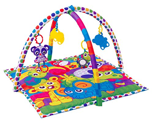 - Playgro Linking Animal Friends Playgym for Baby Infant Toddler Children 0185477, Playgro is Encouraging Imagination with STEM/STEM for a Bright Future - Great Start for a World of Learning